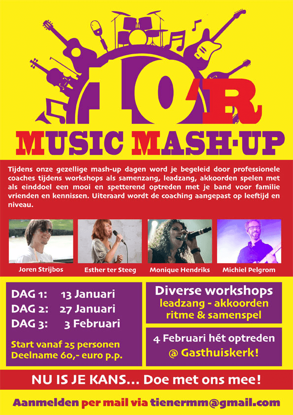 10 R music mash up in Doesburg